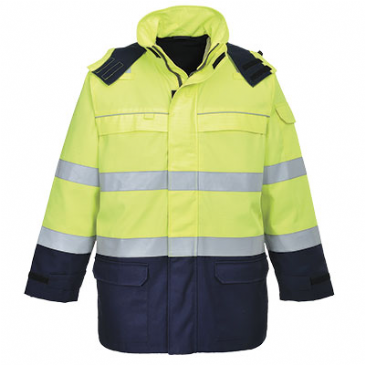 FR79 - BIZFLAME MULTI ARC HI-VIS JACKET